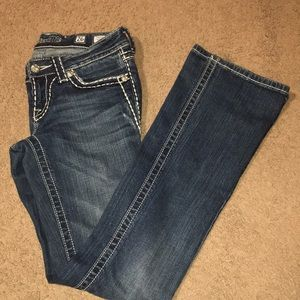 Miss Me Bootcut Jeans 26 JP5014L Denim